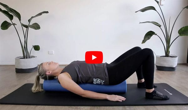 Foam Roll Your Way To Better Desk Posture